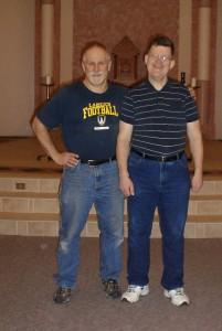 Gary and David