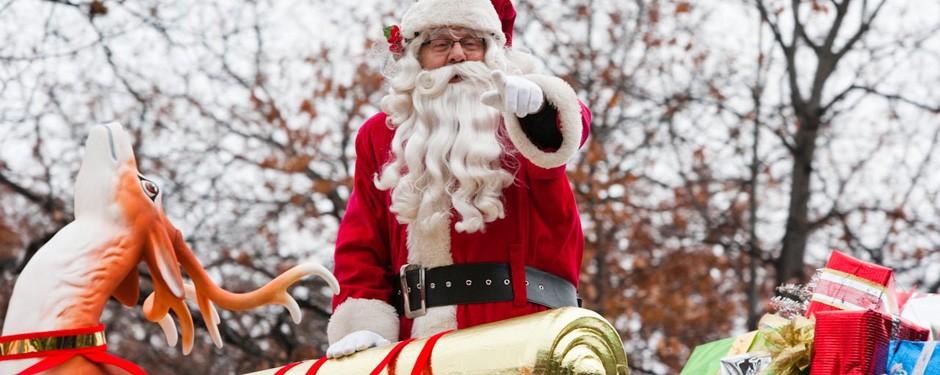 Kitchener Waterloo Santa Claus Parade  Route