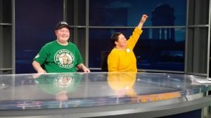 Kyle and Jenna at CTV 2