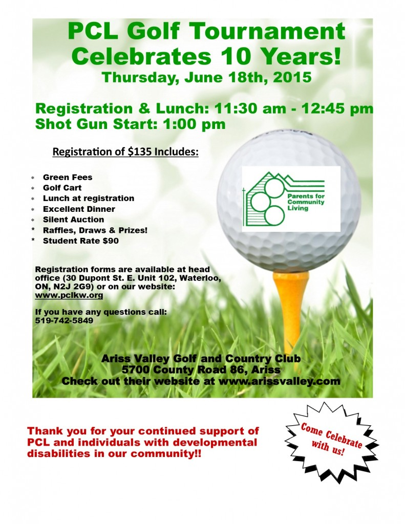 Golf Tournament Poster 2015