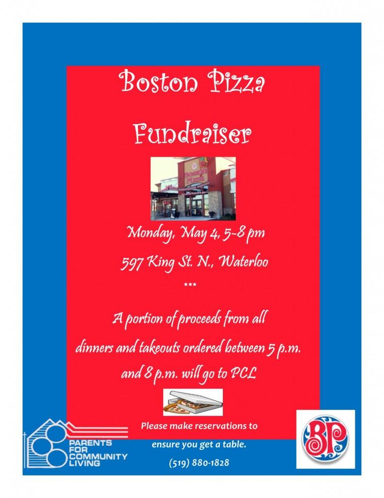 Boston Pizza Flyer 2015