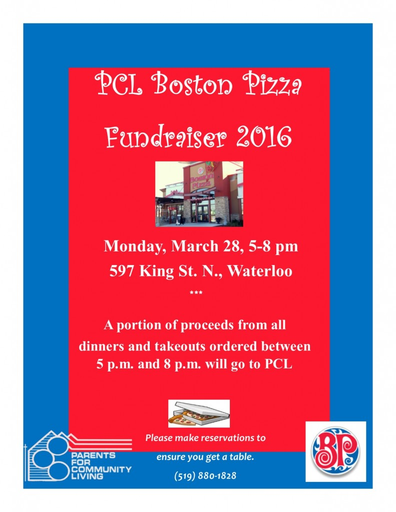 Boston Pizza Flyer 2016