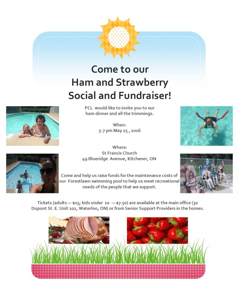 Ham and Strawberries social