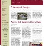Newsletter Fall 2012