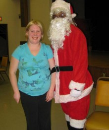 PCL Christmas Party with Santa