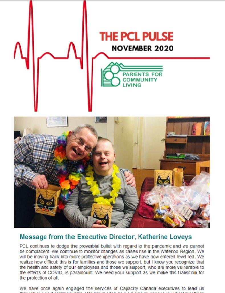 The PCL Pulse November 2020